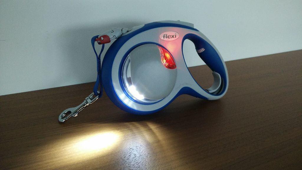 Rollleine Flexi Leine mit LED Lampe